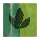 Silver Leaf Tile II