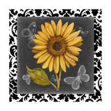 Ornate Sunflowers I