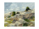 Impasto Mountainside I