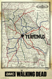 The Walking Dead - Terminus Map