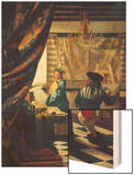 The Art of Painting (The Artist's Studio) About Um 1666/68