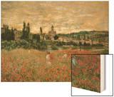 Mohnfeld Bei Vetheuil Ca1880