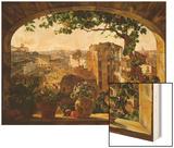 Piazza Barberini  Rome  1830