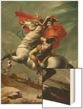 Napoleon (1769-1821) Crossing the Saint Bernhard Pass  1801/2