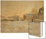Snow in Argenteuil  1875