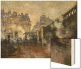 Le Pont De L'Europe  Gare Saint-Lazare  1877