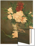 Vase with Peonies on a Pedestal  1864
