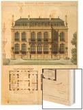 Parisian Suburban House and Plans