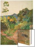 Martinique Landscape (Tropical Vegetation)  1887