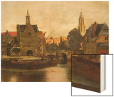 View of Delft c1660-61