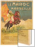 Morocco and Marseille Poster  1913