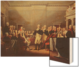 The Resignation of George Washington on 23rd December 1783  C1822
