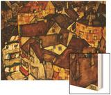 Krumau Town Cresent  1915