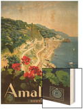 Poster Advertising the Amalfi Coast