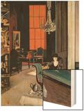 Interior - the Orange Blind  c1928