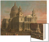 St Paul's Cathedral  1754