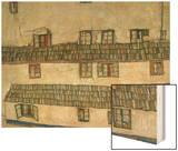 Old Houses (Krumlov  Bohemia)  1917