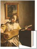 The Guitar Player  circa 1672