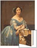 Portrait of the Princesse De Broglie  1853