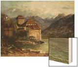 The Chateau de Chillon  1875