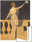 Farewell at Night  Design for an Evening Dress by Paquin