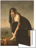 Etude de femme d'aprés nature  dit aussi : Portrait de madame Soustra