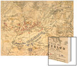 Battle of Waterloo  18th June 1815  Sheet 1st
