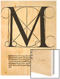 M  Illustration from 'Divina Proportione' by Luca Pacioli (C1445-1517)  Originally Pub Venice