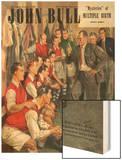 John Bull  Arsenal Football Team Changing Rooms Magazine  UK  1947
