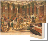 The Visit of the Queen of Sheba to King Solomon  Illustration from 'Hutchinson's History of the