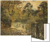 The Pond at Montfoucault; L'Etang De Montfoucault  1874
