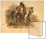 A Blackfoot Indian on Horseback  Plate 19 from Volume 1 of Travels in the Interior of North America