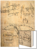 Weapon Designs  Including For a Giant Crossbow  Codex Atlanticus  1478-1518