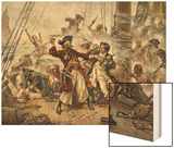 The Capture of the Pirate Blackbeard  1718