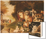 The Peaceable Kingdom  1832-34 (See also 84503)
