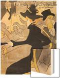 """Poster Advertising """"Le Divan Japonais""""  1892"""