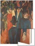 Berlin Street Scene  1913
