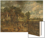 """Full Scale Study for """"The Hay Wain """" circa 1821"""
