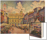 The Herb Market  Verona; La Place Aux Herbes  Verone