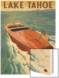 Lake Tahoe  California - Wooden Boat