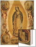La Virgen de Guadalupe  18th Century  Mexican School