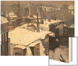 Rooftops in the Snow  c1878
