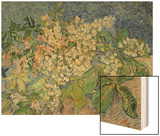 Blossoming Chestnut Branches  c1890