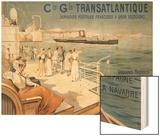 Cie Gle Transatlantique  circa 1910