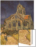 The Church in Auvers-Sur-Oise  c1890