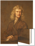 Portrait of Sir Isaac Newton  the Great Philosopher  Mathematician and Astronomer