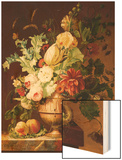 Roses  a Tulip  a Peony  Marigolds  Hollyhocks