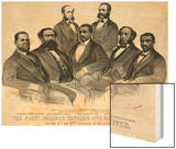 The First Colored Senator and Representatives  in the 41st and 42nd Congress of the United States