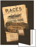 Races  Saratoga  Ten Dollar Bill