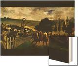 Race at Longchamp by Edouard Manet